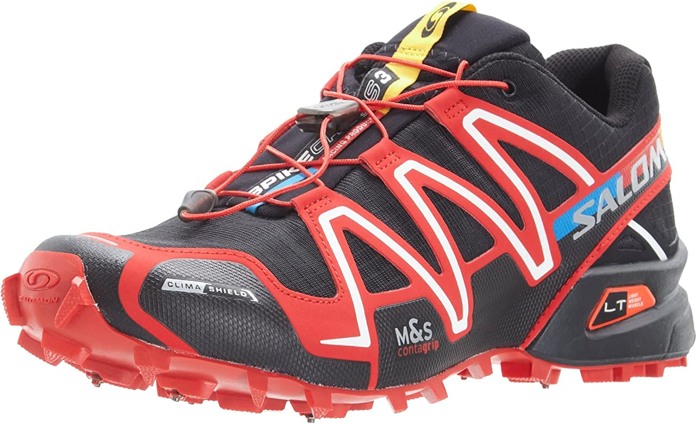 Salomon S-Lab Zapatilla Running De Clavos Cross 3 CS Zapatilla De Correr para Tierra - AW15-40: Amazon.es: Zapatos y complementos