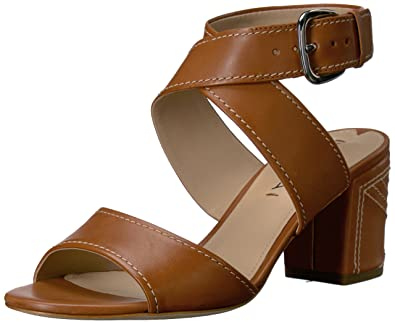 bd8f9ccf96 Amazon.com | Via Spiga Women's Carson Dress Sandal | Heeled Sandals
