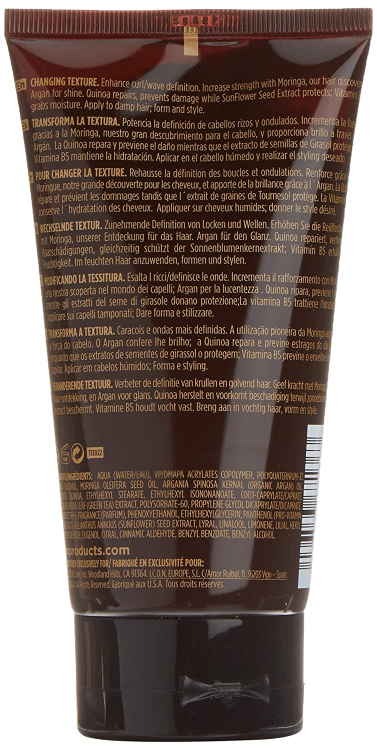I.C.O.N. India Curl Cream Tratamiento Capilar - 150 ml: Amazon.es: Belleza