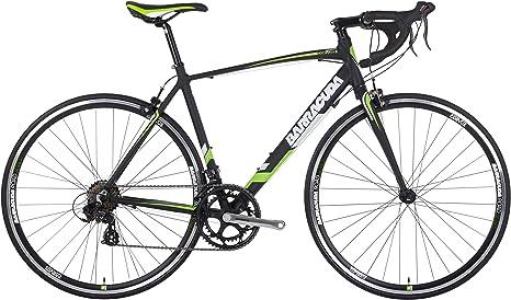 Barracuda Hombre Corvus 2 Bicicleta, Color Negro/Verde, tamaño ...