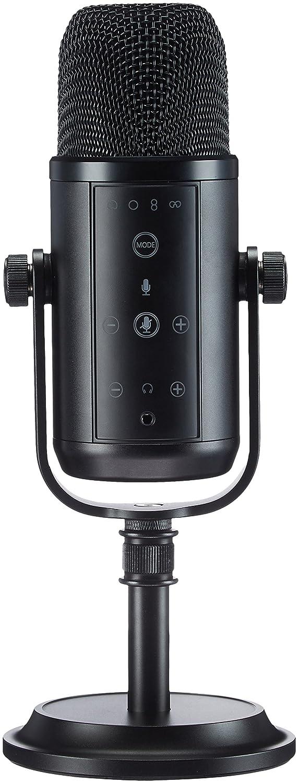 AmazonBasics Professional USB Condenser Microphone - Black LJ-PCM-001