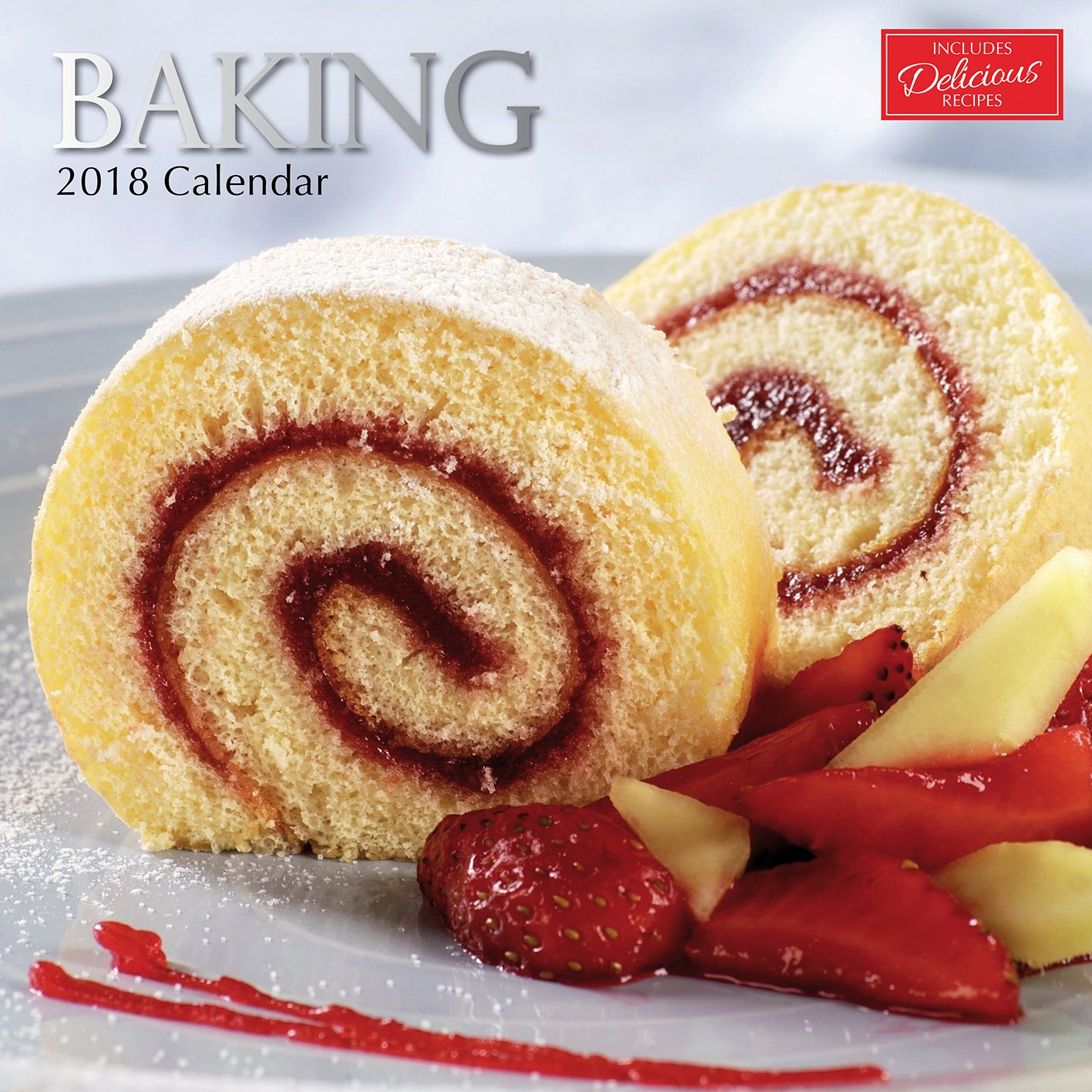 Amazon.com : 2018 Baking Calendar - 12 x 12 Wall Calendar - With 210  Calendar Stickers : Office Products
