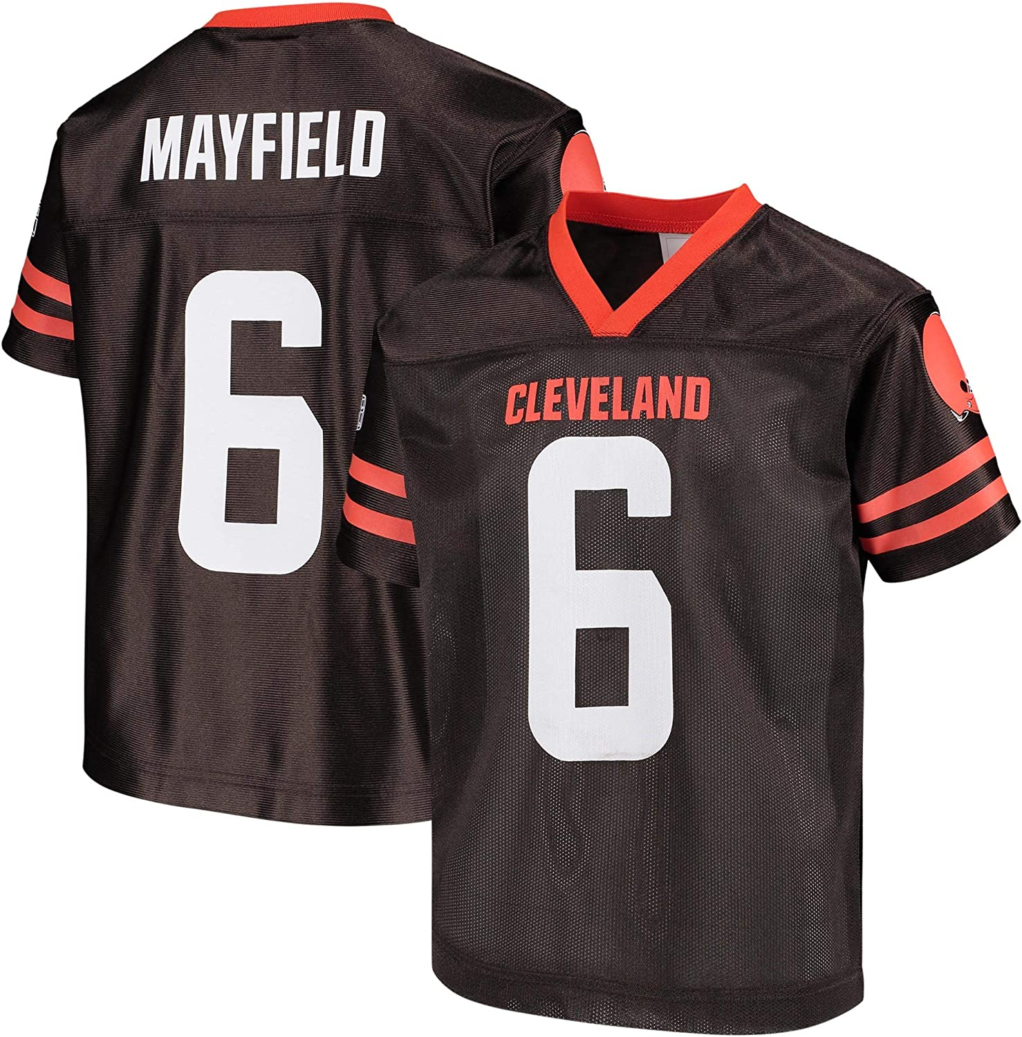 Baker Mayfield Cleveland Browns Brown #6 Youth 8-20 Home Player Jersey