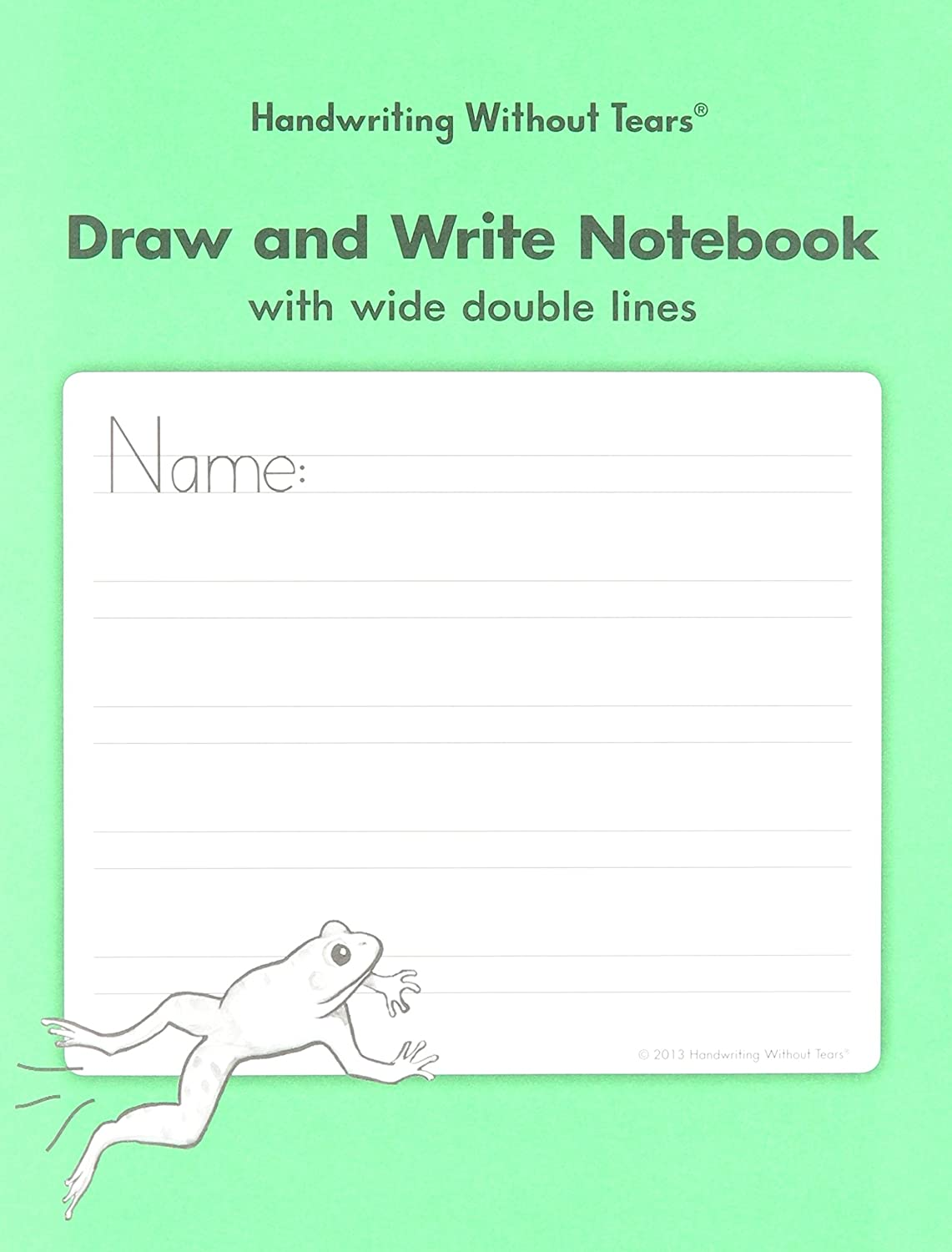 Handwriting Without Tears DAW Double Line Wide Draw and Write – Handwriting Without Tears Worksheets