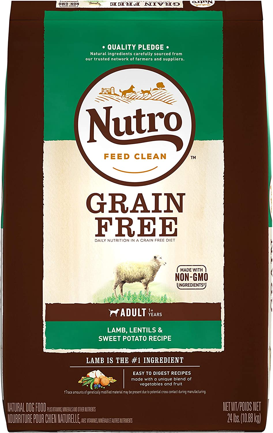 NUTRO Grain Free Natural Adult Dry Dog Food