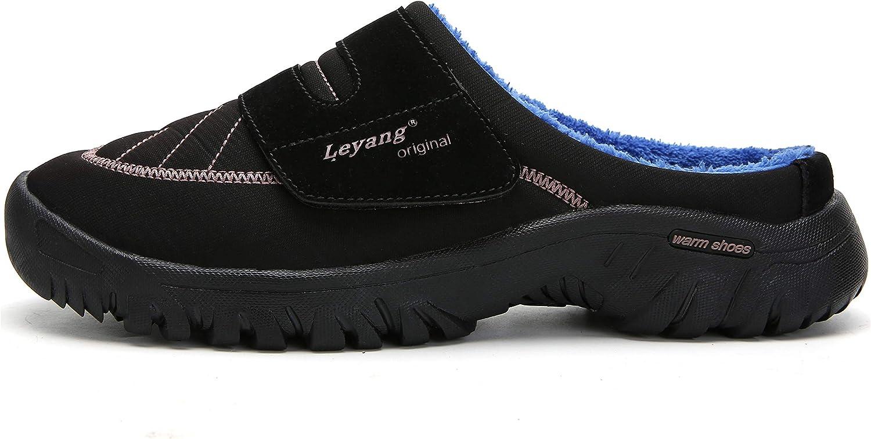 Mishansha Chaussons Homme Femme Pantoufles Hiver Chaud Chaussures