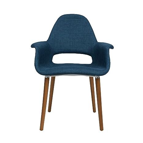 Amazon.com: Tribeca sillón orgánico, Azul ...