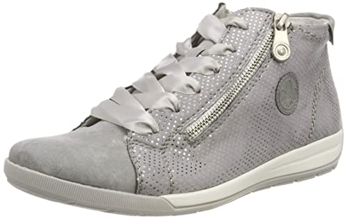 discount large discount low price sale Rieker Damen M3041-41 Hohe Sneaker