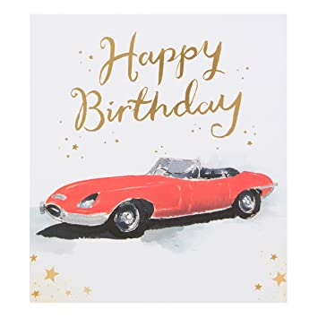 Hallmark Birthday Card Classic Car