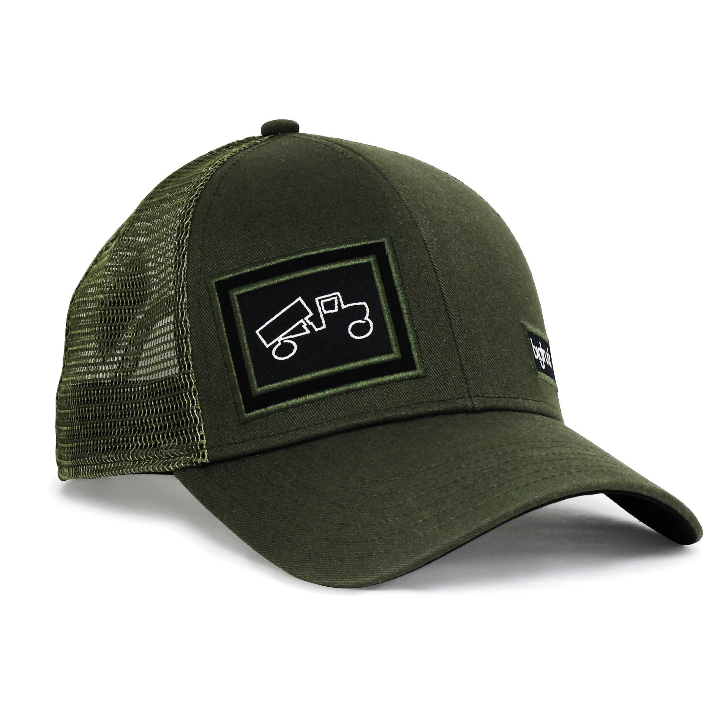 bigtruck Classic Trucker Hat, Olive, Adult