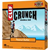 CLIF CRUNCH - Granola Bar - Peanut Butter - (1.48 Ounce, 5 Two-Bar Snack Pouches)