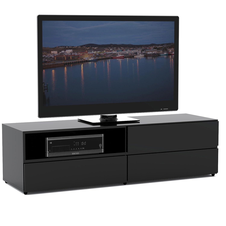 Amazon.com: Nexera 60-inch TV Stand 223106, Black: Kitchen & Dining