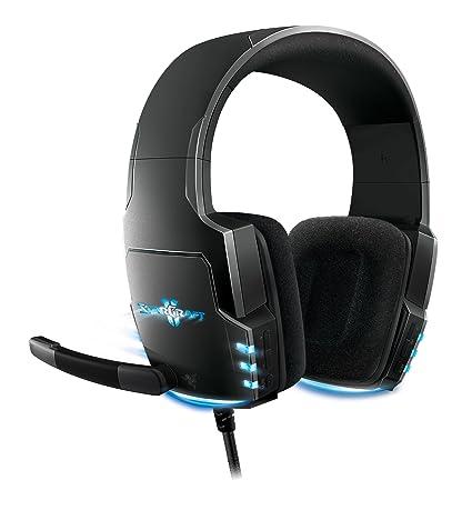 Razer Banshee StarCraft II Binaural Diadema Negro auricular con micrófono - Auriculares con micrófono (PC/Juegos, Binaural, Diadema, Negro, 2,13 m, ...