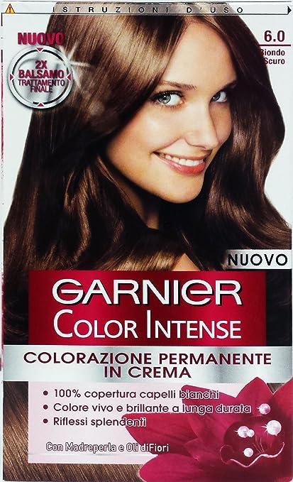 6 x Color Intense Champú Tinte Rubio Oscuro 6.0: Amazon.es ...