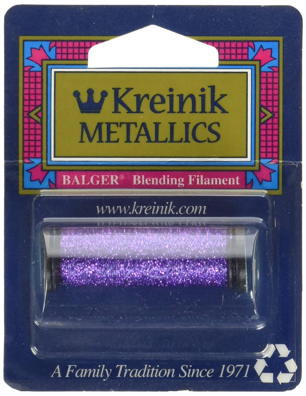 Kreinik Blending Filament 50m Metallic Thread for Sewing Purple 55-Yard