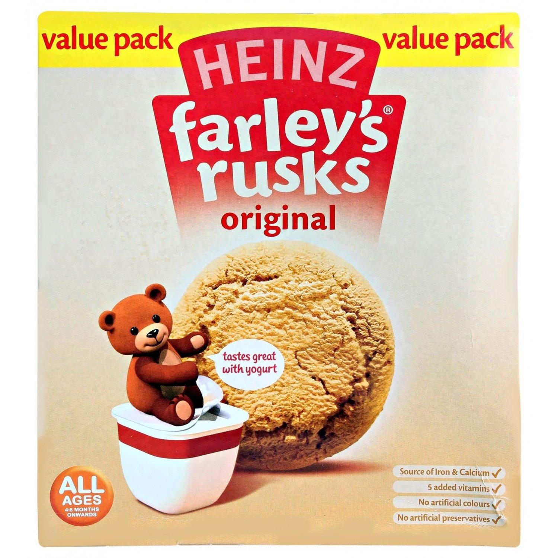 Farleys Rusks 4 Month Original 18 Pack 300g Farley' s
