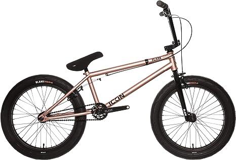 Icono en Blanco de 20 Pulgadas BMX Completo, Oro Rosa: Amazon.es: Deportes y aire libre