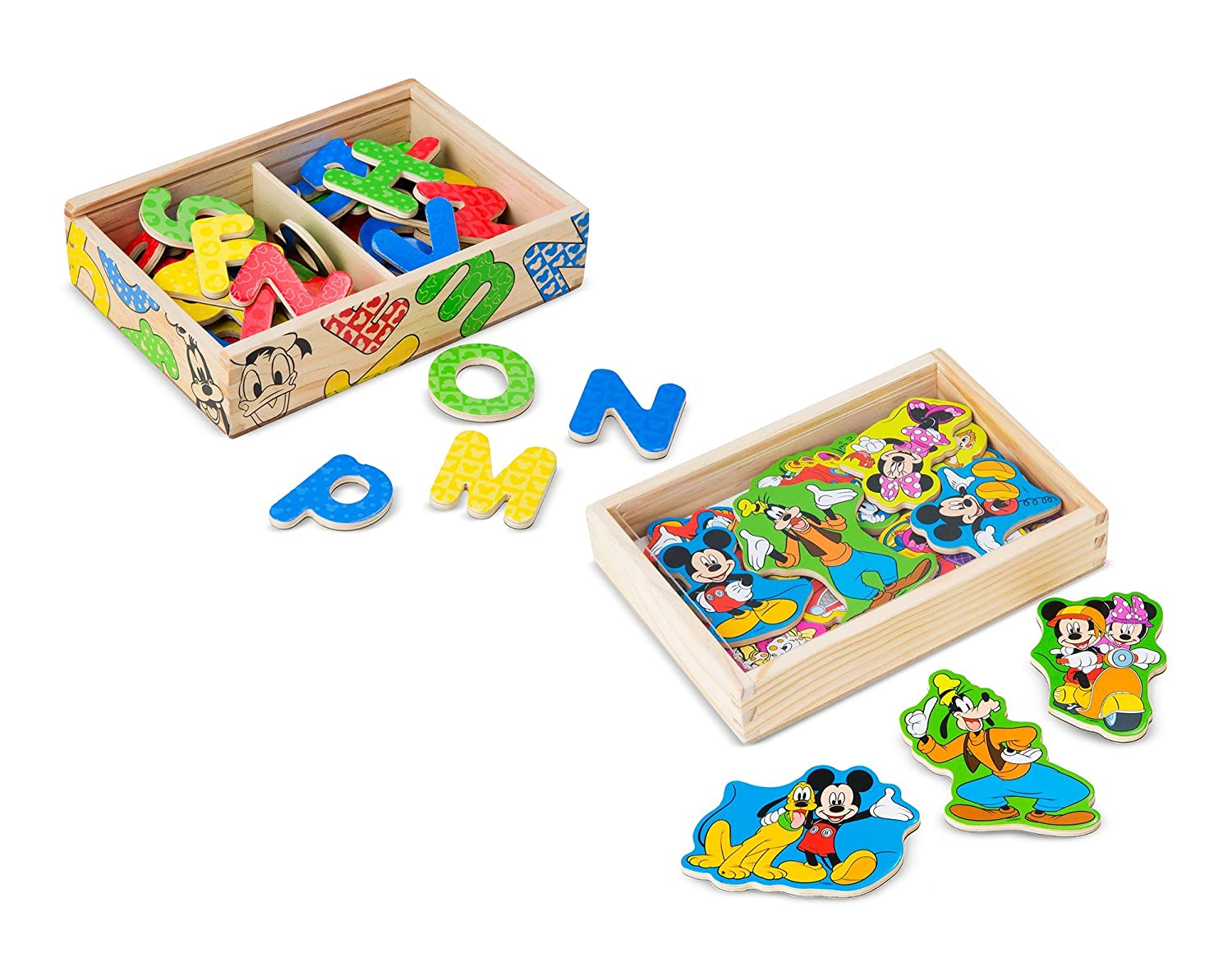 Melissa & Doug Disney Mickey Mouse Wooden Character Magnets (20 pcs) 5775