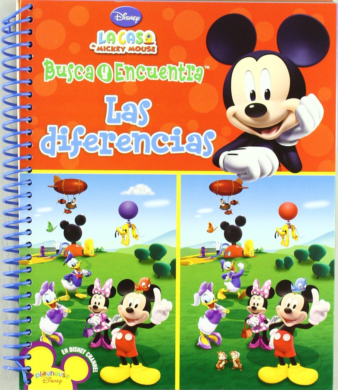 BUSCA Y ENCUENTRA LAS DIFERENCIAS - LA CASA DE MICKEY MOUSE (Spanish Edition) ebook
