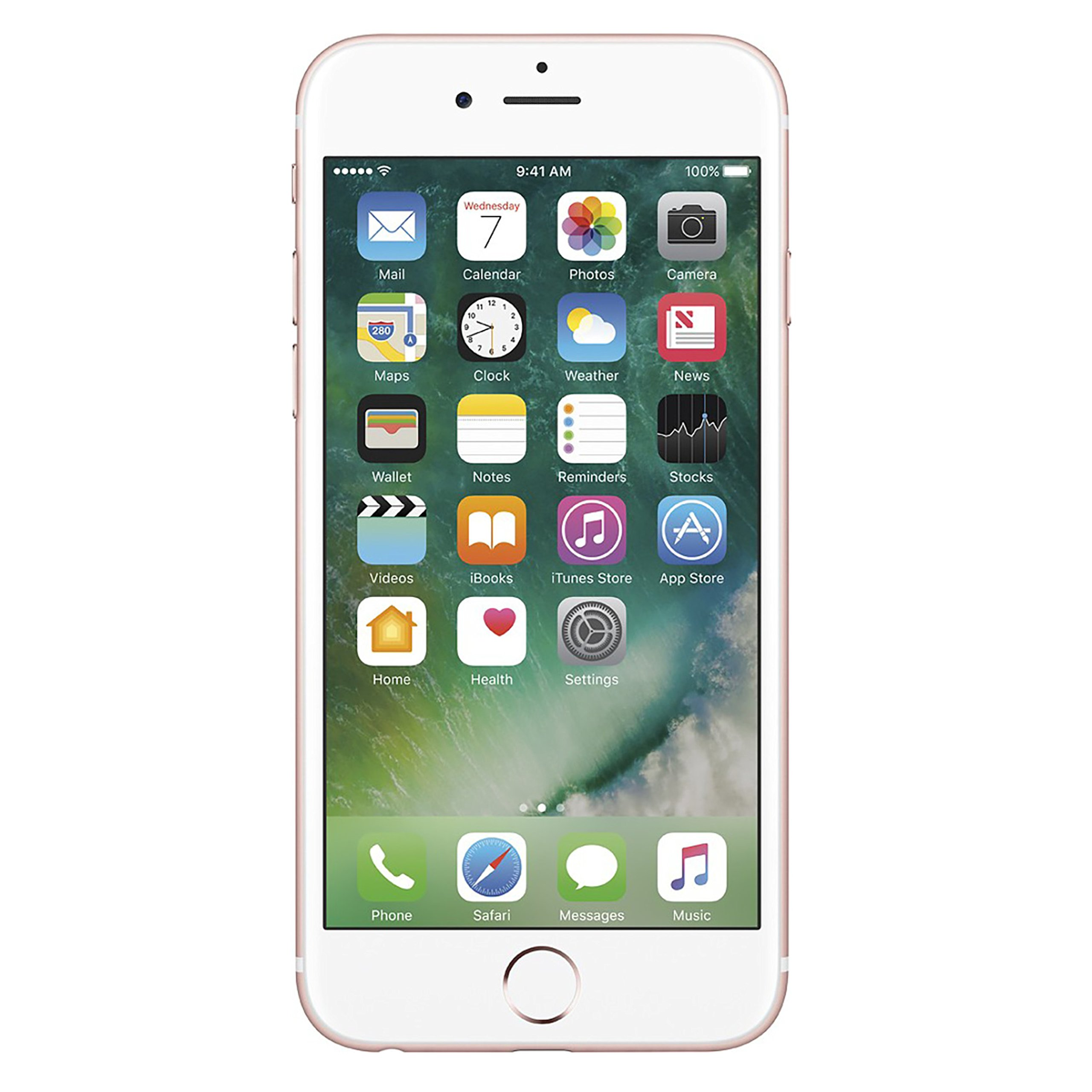 Apple iPhone 6S Plus, Fully Unlocked, 64GB - Rose Gold (Renewed)