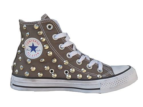 scarpe uomo all star converse borchie