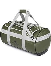 The Friendly Swede Duffel Bolsa de Viaje y Deporte Convertible en Mochila - Duffle Bag (Capacidad: 30l/ 60l/ 90l)