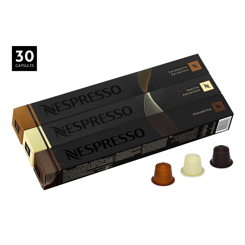 Nespresso Limited Edition 30 Capsules, Vanilio, Caramelito ...