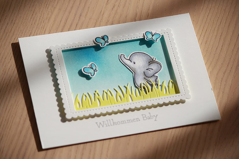 Karte zur Geburt eines Jungen, Babykarte