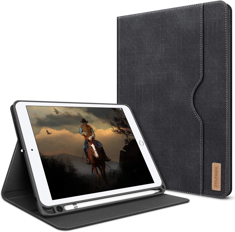 iPad Mini 5 Case iPad Mini 4 Case Cover for iPad Mini 5th Generation with Pencil Holder - Folio Smart Cover with Pocket Auto Sleep/Wake Protector for iPad Mini 4/5 7.9 inch