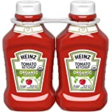 Heinz Organic Tomato Ketchup (44 oz Bottles, Pack of 2)