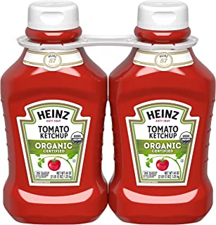 product image for Heinz Organic Tomato Ketchup (44 oz Bottles, Pack of 2)