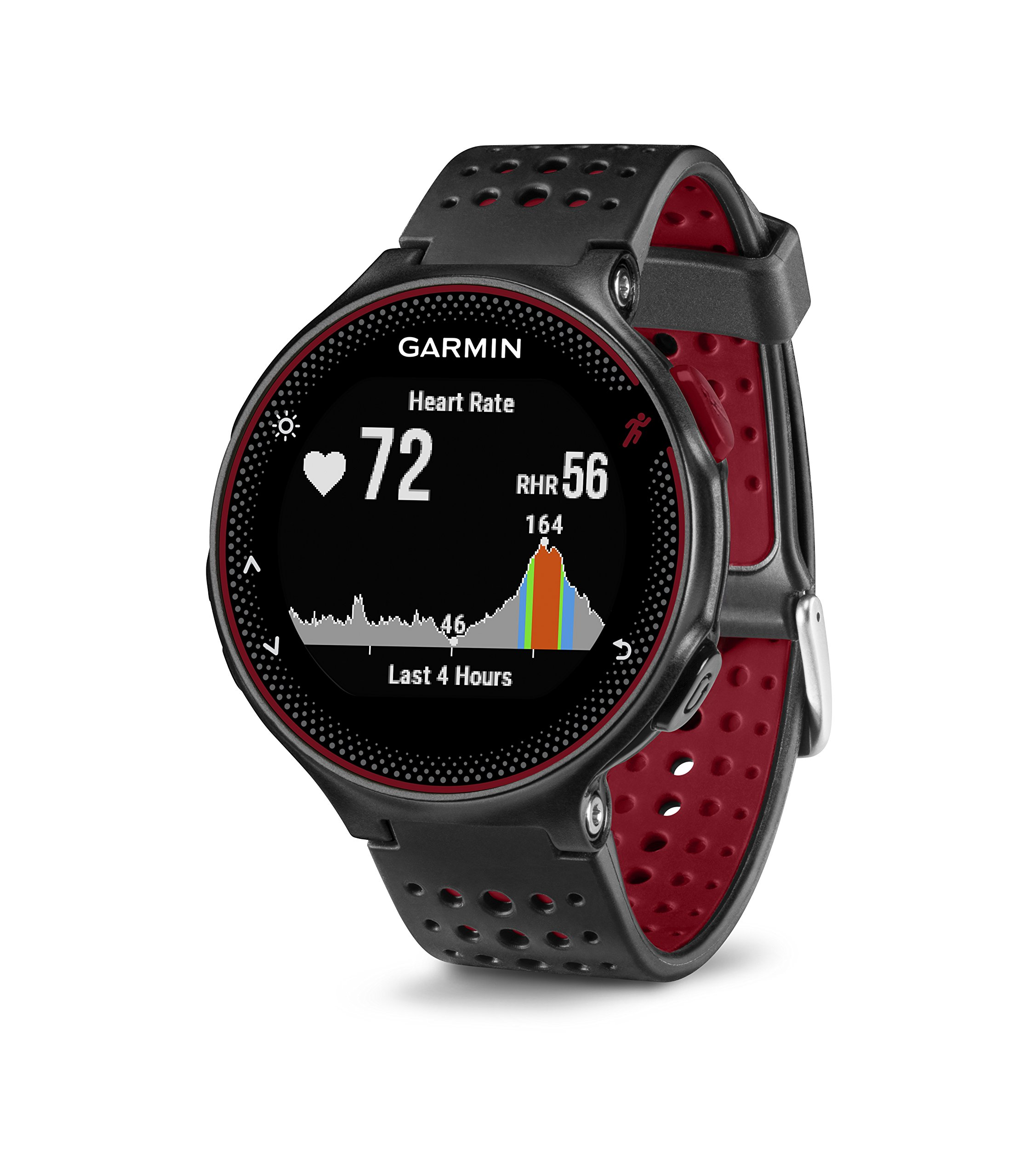 Garmin Forerunner 235 (Marsala) GPS Running Watch Bundle | with HD Screen Protector Film (x4) & PlayBetter USB Car/Wall Adapters | On-Wrist Heart Rate | Elevate Heart Rate Technology | VO2 Max by PlayBetter (Image #4)