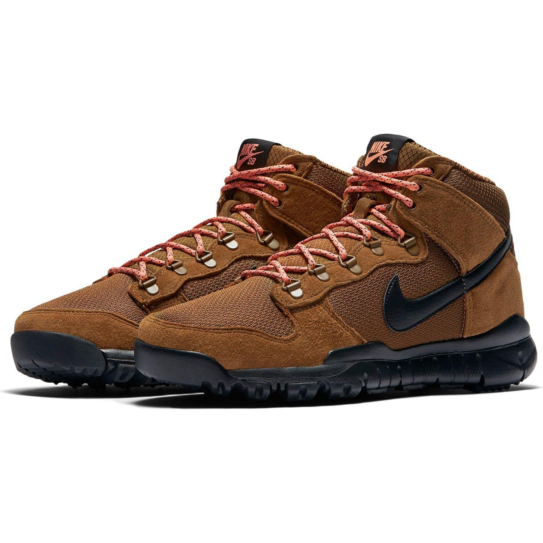 nike SB Dunk High Boot Mens Hi Top Trainers 536182 Sneakers Shoes (US 10, military brown black 203)