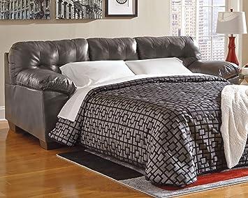 Amazon.com: Ashley Alliston DuraBlend - Sofá cama (cama ...