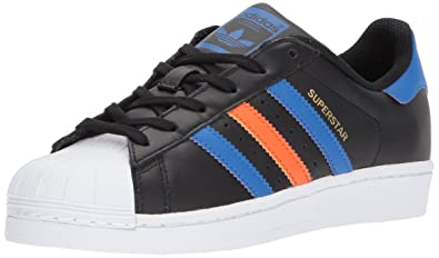 bacdfbe025b2a adidas Originals Superstar J Running Shoe CBLACK