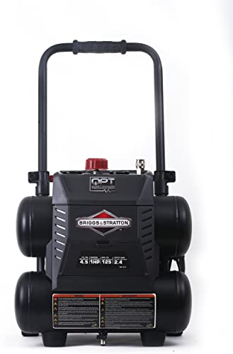 Briggs Stratton 4.5-Gallon Quiet Power Technology Air Compressor 074045-00