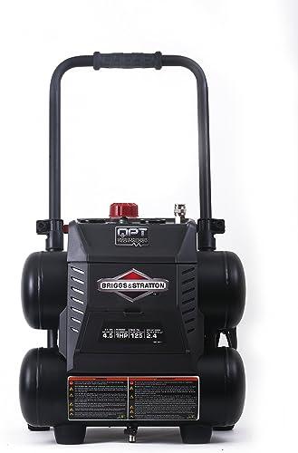 Briggs Stratton 4.5-Gallon Quiet Power Technology Air Compressor 074045-00