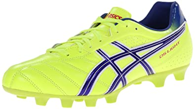 ASICS Men's Ds Light 6 Soccer Shoe,Flash Yellow/Blue,4.5 ...