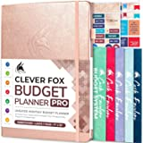 Clever Fox Budget Planner Pro – Financial Organizer + Cash Envelopes. Monthly Finance Journal, Expense Tracker & Personal Acc