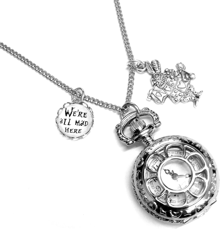 Alice in Wonderland Rabbit Jewellery Charms//Pendants 6 Designs to Choose