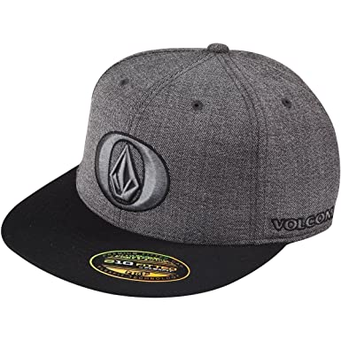 ddf1017799989 ... low price volcom hardcore 210 fitted mens flex fit hat in black size  large ce108 59496 ...
