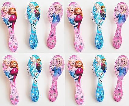 Asera 12 Pcs Frozen Hair Brushes For Kids Birthday Return Gifts Girls Amazonin Toys Games