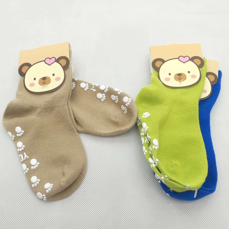 calzini Antiscivolo con grip per ragazzi neonati TUKA Anti-scivolo ABS Calzini per Bambini TKB7000
