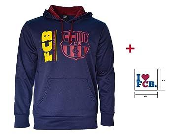 Barcelona F.C. - Sudadera con capucha chaqueta de forro ...