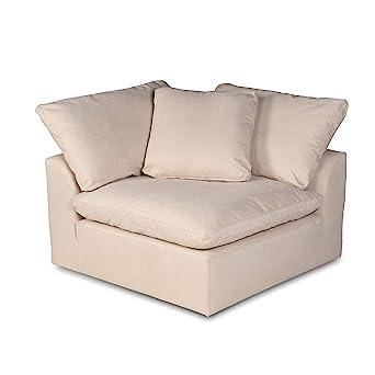 Amazon.com: Sunset Trading Cloud Puff Sectional Corner Chair ...
