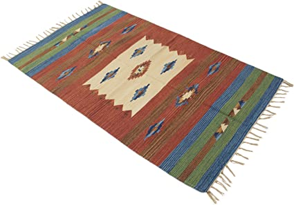 Originale e Fatto a Mano Ide Galleria Farah1970-220x160 CM Kilim Autentico