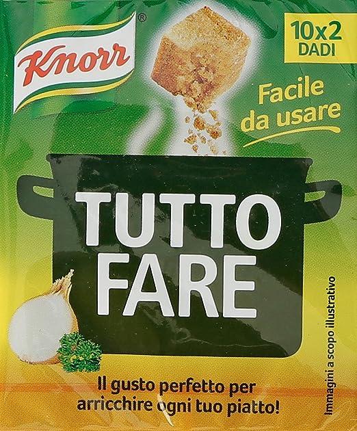 4 opinioni per Knorr- Dadi Tutto Fare, Preparato Per Brodo- 100 G