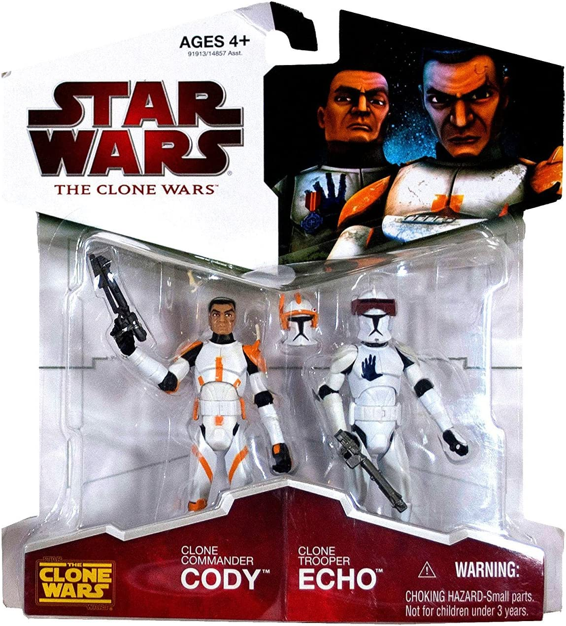 Star Wars 2009 Clone Wars Animated Exclusive Action Figure 2-Pack ...