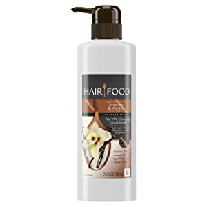 Hair Food Sulfate Free Hair Milk Cleansing Conditioner Infused with Jasmine & Vanilla Fragrance, 17.9 fl oz