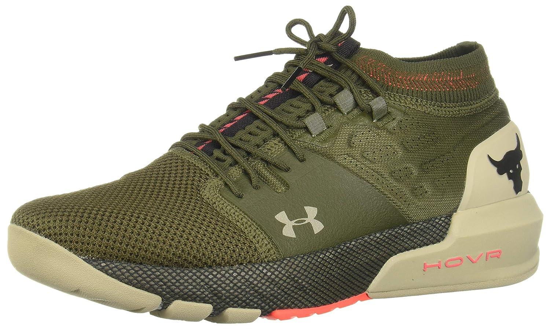 silueta Criatura cubrir  Buy Under Armour Men's Ua Project Rock 2 Guardian Green Training Shoes-9 UK  (44 EU) (10 US) (3022024) at Amazon.in